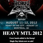 HEAVY MTL 2012: 8 NEW BANDS ADDED!