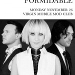 WIN TICKETS TO AN EXCLUSIVE INVITE ONLY SHOW WITH THE JOY FORMIDABLE